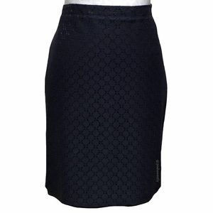 The Limited Lace Overlay Pencil Skirt